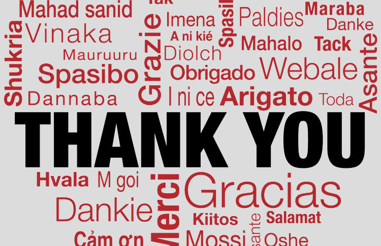 Image - Thank you in many different languages