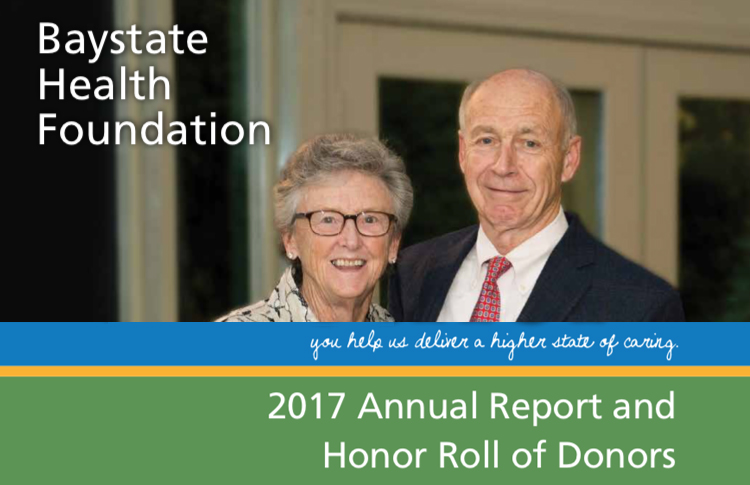 2017 Baystate Health Foundation Annual Report